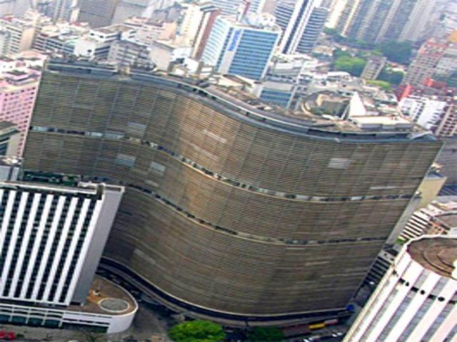 Edificio Copan - Oscar Niemeyer, San Paolo