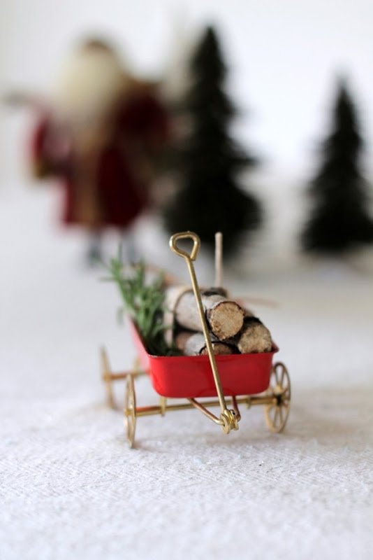 Vintage Wagon & Log Place Cards by homework (carolynshomework (3)