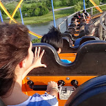 another roller coaster ride at Canada's Wonderland in Vaughan, Ontario, Canada