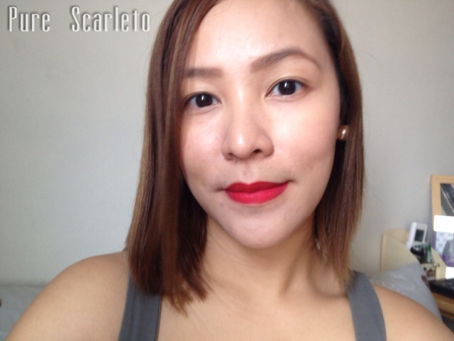 L'Oreal Paris Star Collection Matte Reds in Pure Scarleto