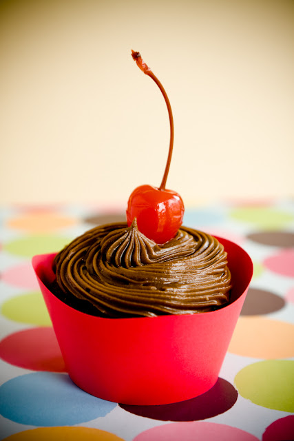 Cherry Coke Cupcakes with Cola Frosting | Cupcake Project