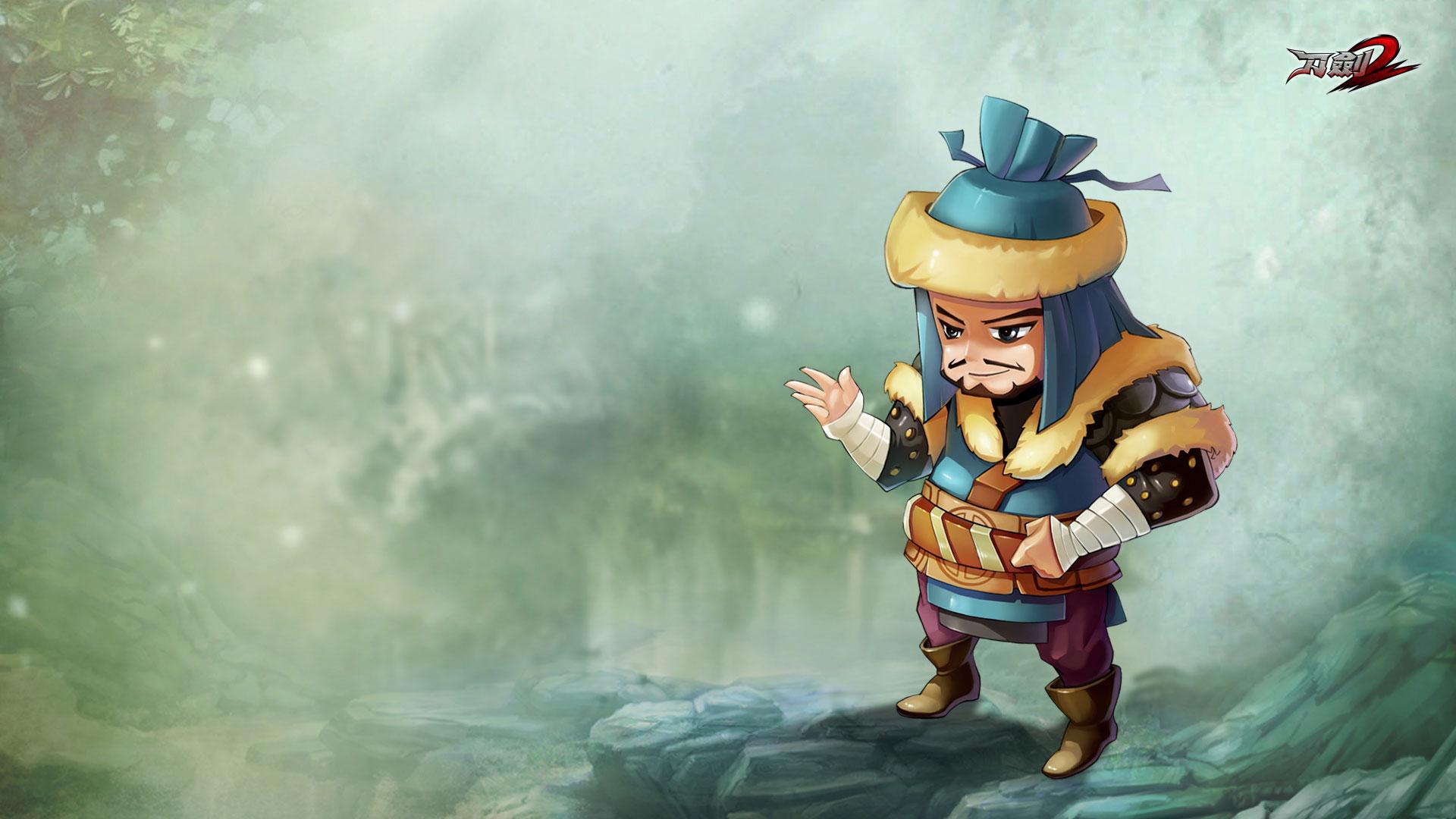 Ngắm hình nền siêu dễ thương của Đao Kiếm 2