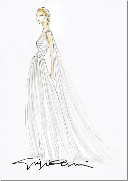 Sketch Beatrice Borromeo