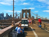 A Brooklyn bridge moment