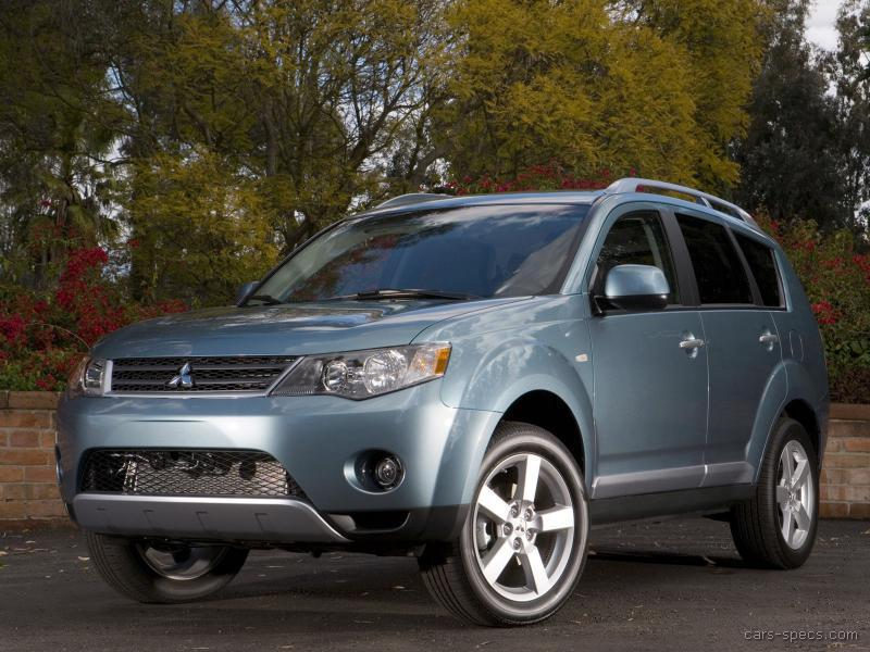 2007 mitsubishi outlander suv specifications pictures prices. Black Bedroom Furniture Sets. Home Design Ideas
