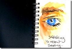 sketching is about seeing