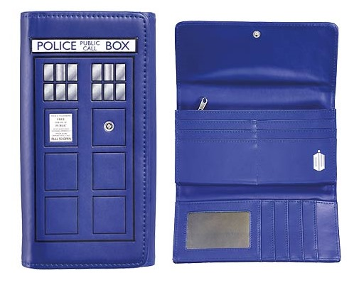 Doctor Who TARDIS Ladies Wallet from Entertainment Earth