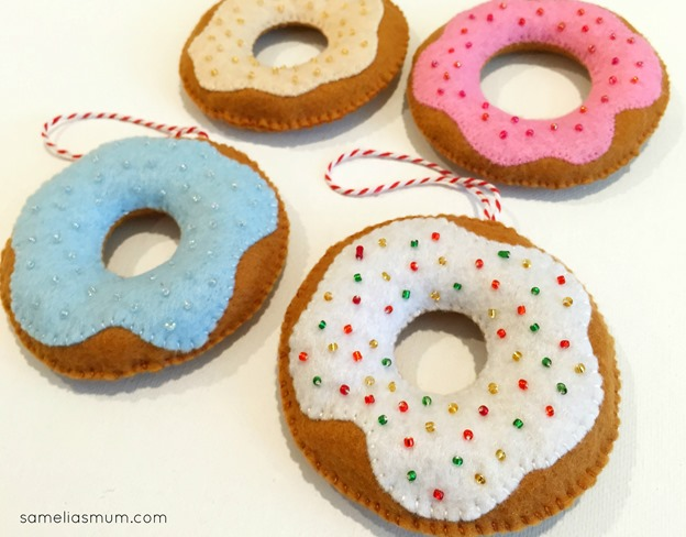 Donut Decorations by Anorina Morris (sameliasmum.com)