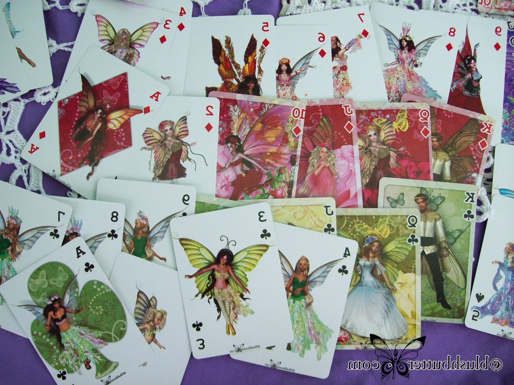 faery cards because I made