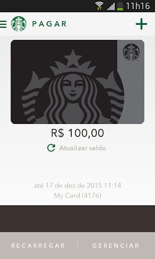 Starbucks Brasil screenshot 2