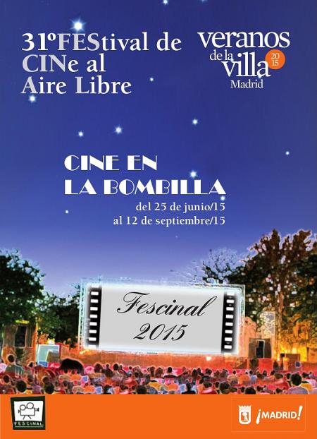 Fescinal 2015, cine al aire libre en el Parque de la Bombilla