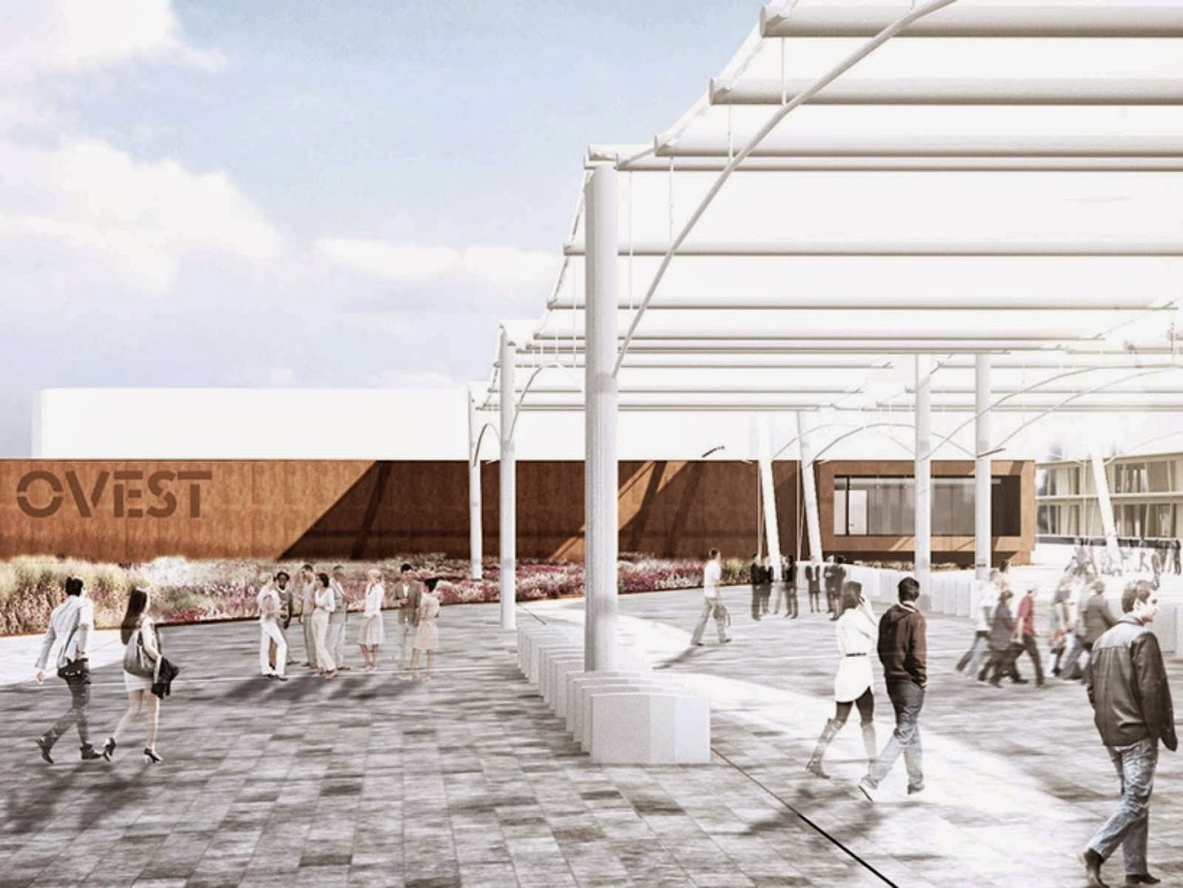 Expo 2015 Service Areas by Onsitestudio