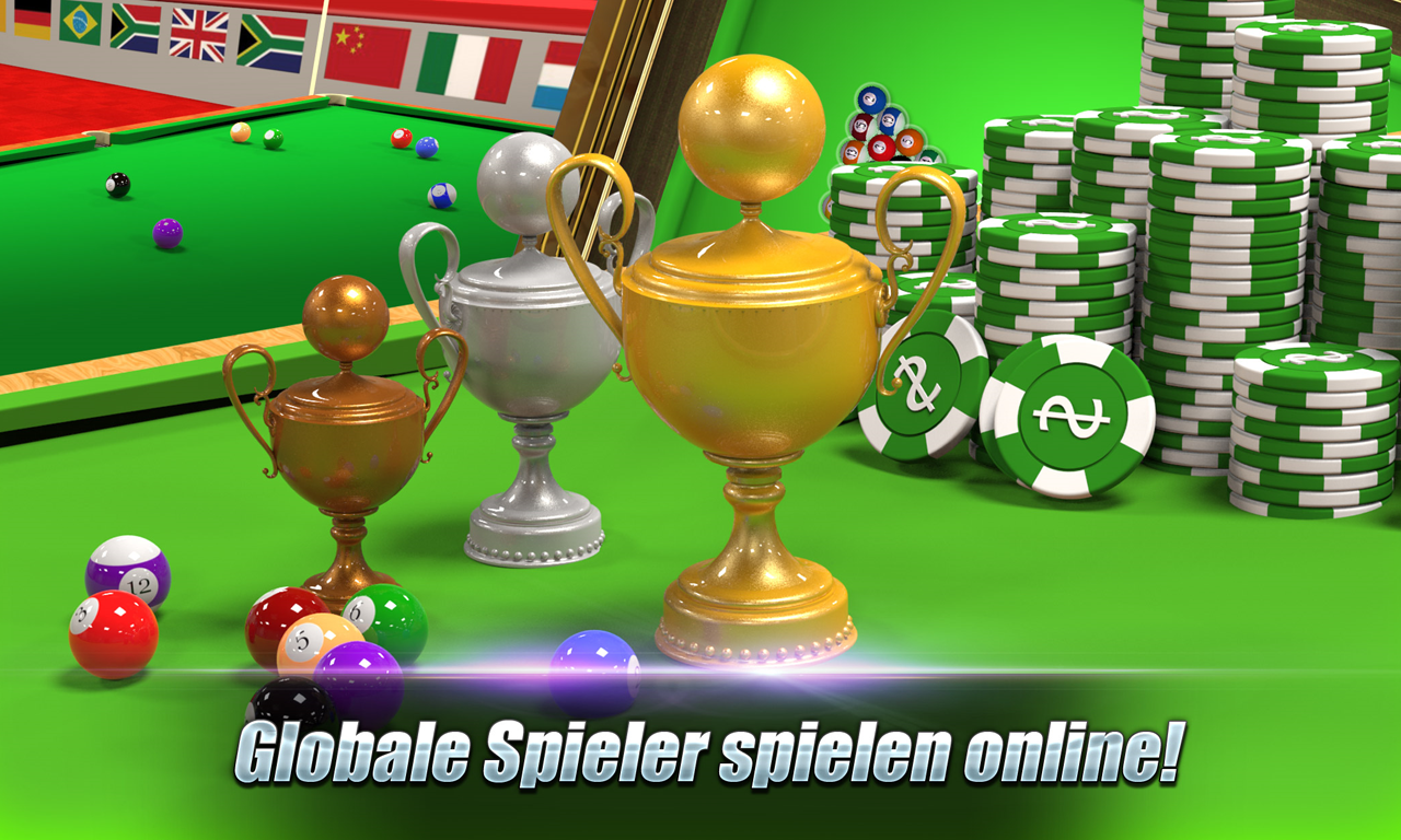 Real Pool 3D - Spielen Sie online in 8 Ball Pool android apps download