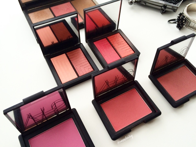 favourite nars blushes for nc40 skintone