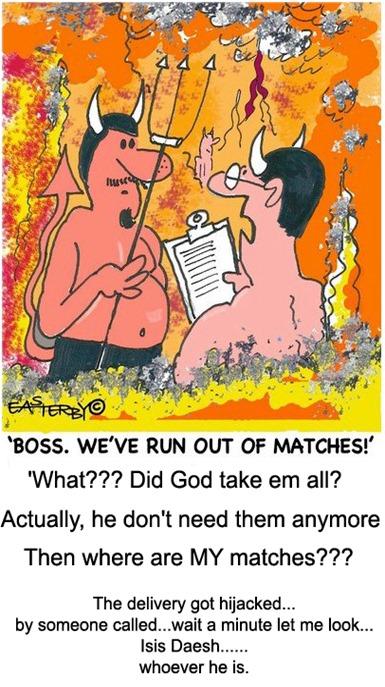 isis match hijack
