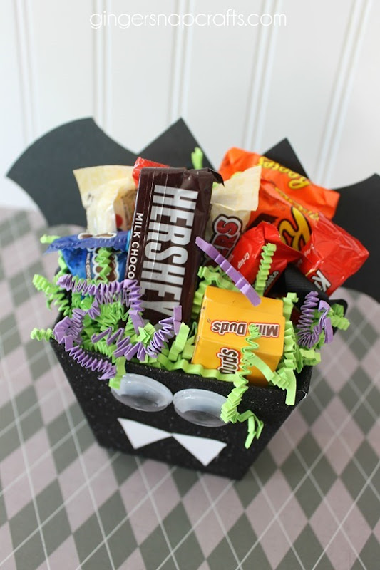 cute Halloween Bat Treat box