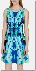 Karen Millen oversized floral print dress