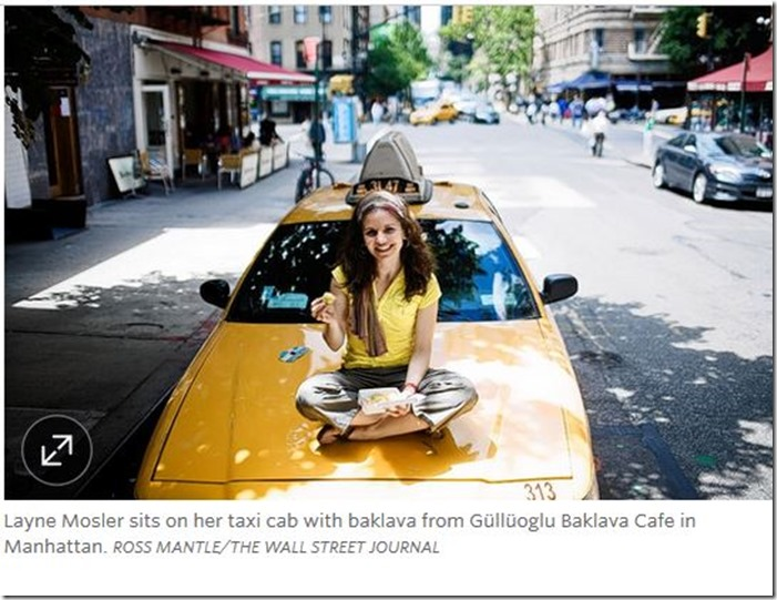 Driving Hungry Layne Mosler WSJ photo