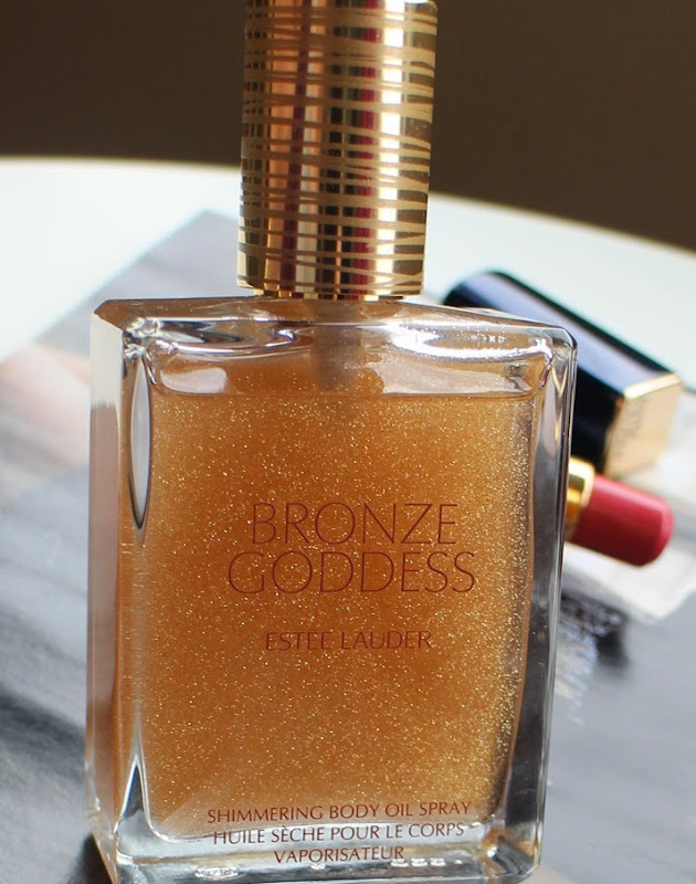 Estee-Lauder-Bronze-Goddess-Shimmering-Body-Oil-Spray-scented-glitter