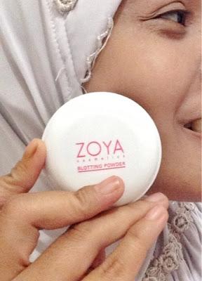 blotting powder zoya cosmetics