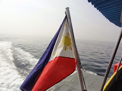 Det filippinske flagget.