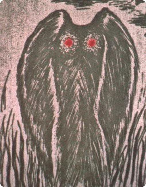 mothman, el hombre polilla
