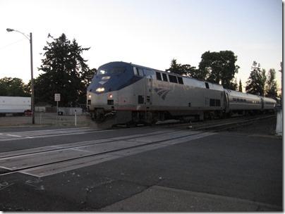 IMG_9018 Amtrak P42DC #61 in Salem, Oregon on September 8, 2007