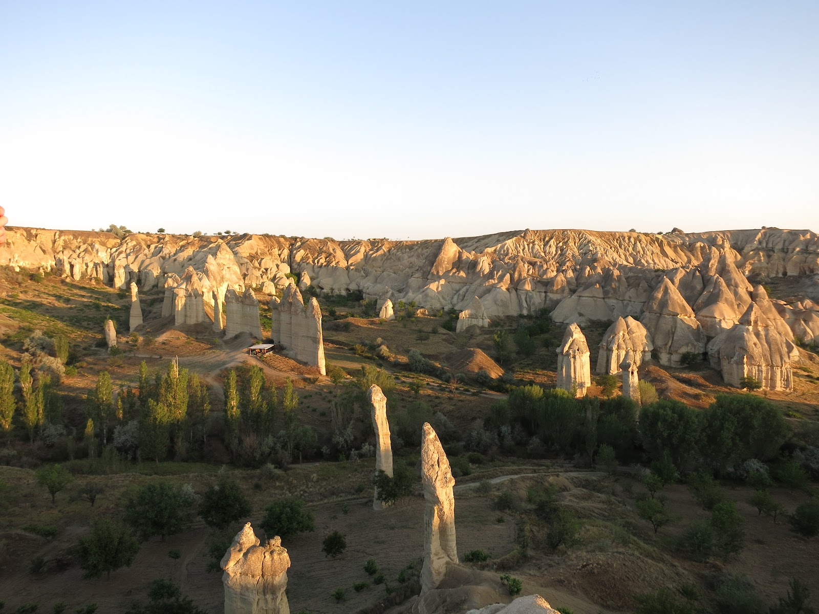 Flying over the Fairy Chimneys