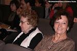 Su abuela, la también guitarrista Laura Viguer junto a Rosa Gil
