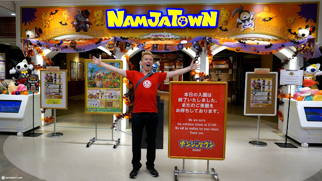 Namjatown by Namco located within the Ikebukuro Sunshine Building in Tokyo in Ikebukuro, Tokyo, Japan