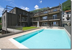 Residence con Piscina Lago Como Musso Rif.A008.--5