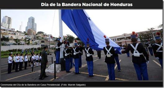 día bandera honduras