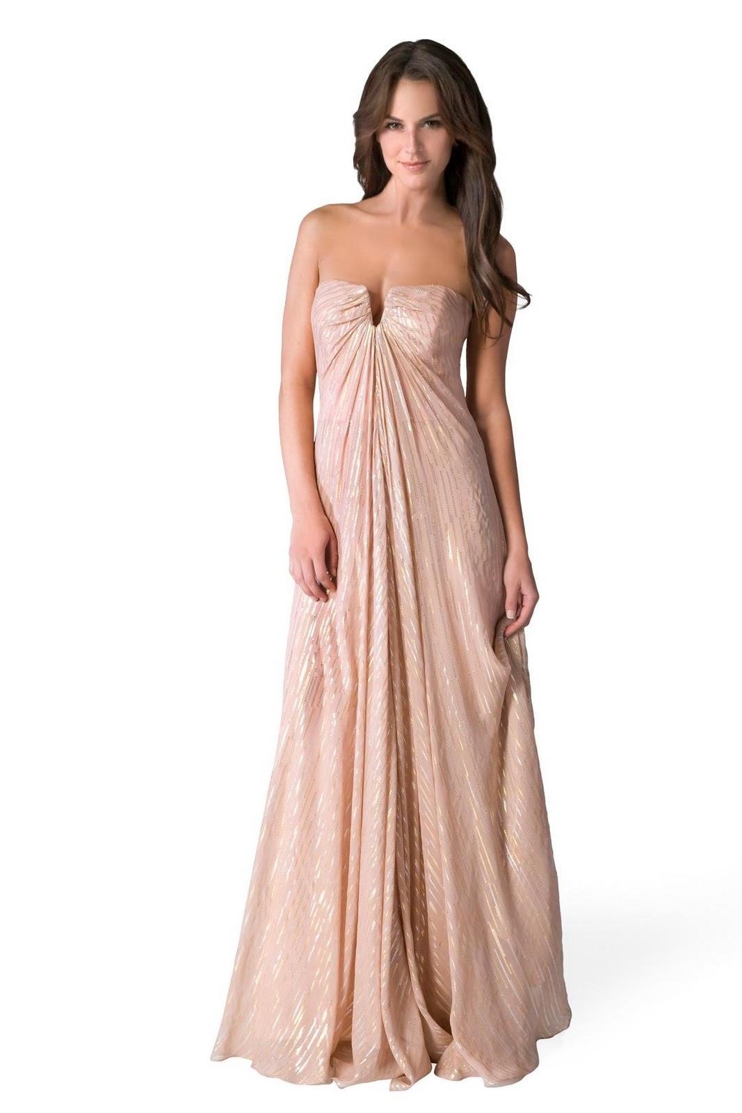 Keyhole Goddess Gown image