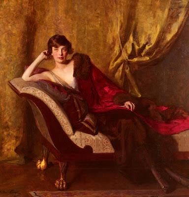 J. Ottis Adams - Portrait Of Countess Michael Karolyi