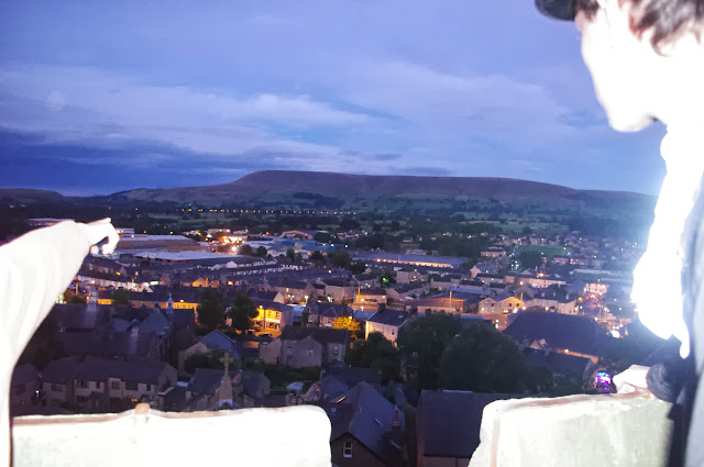 There's my house, whoops that's Pendle Hill