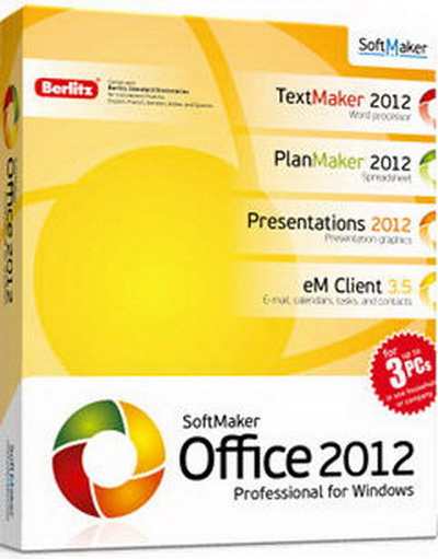 SoftMaker Office Professional 2012 rev656 Multilanguage-rG