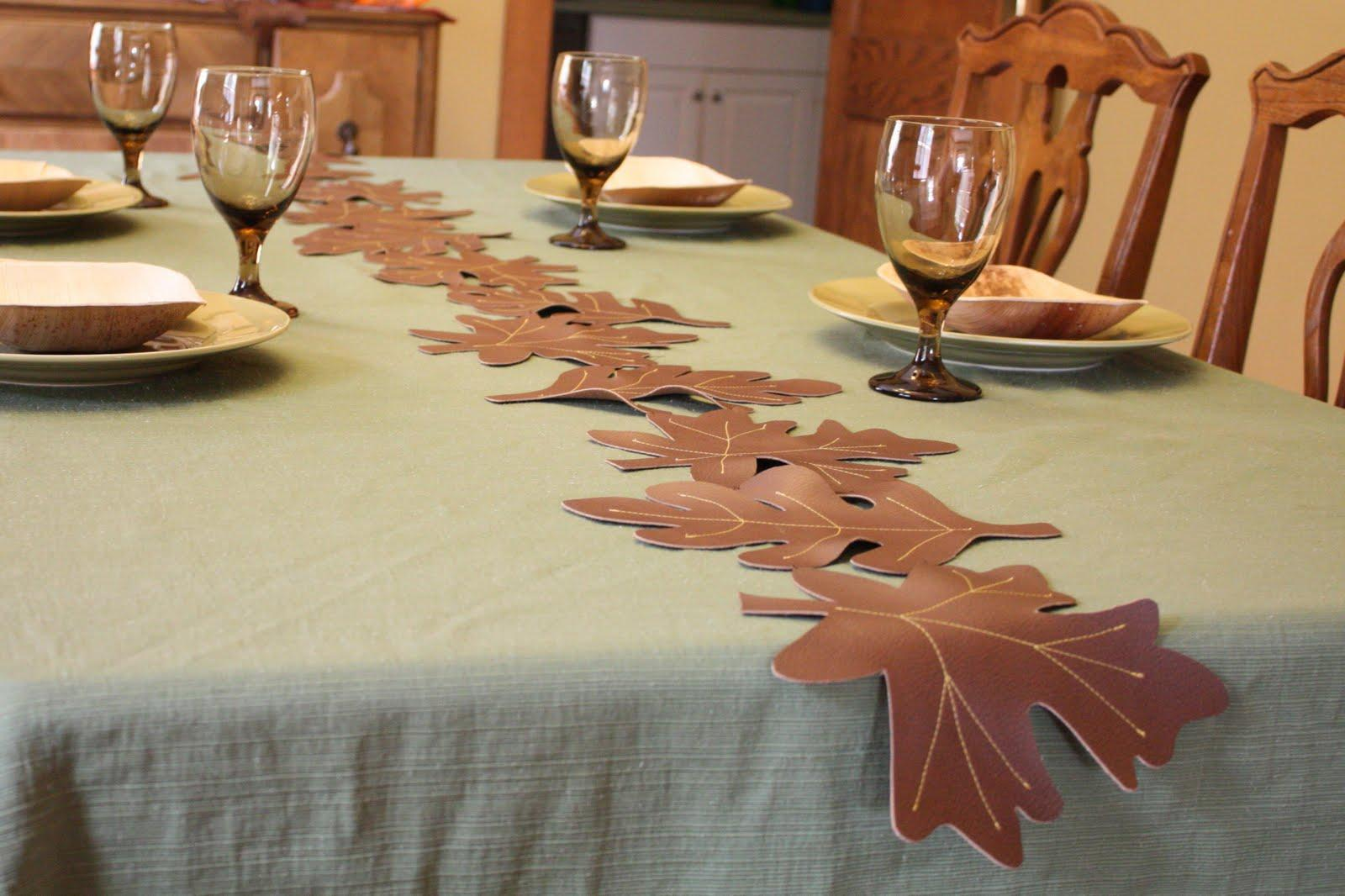 Faux Leather Leaves Tutorial