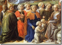 Fra-Filippo-Lippi-Coronation-of-the-Virgin-detail-3-