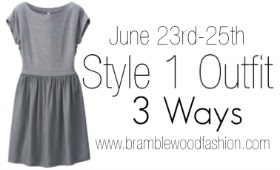 Style 1 Outfit 3 Ways