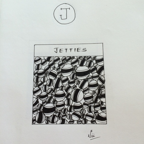 jetties zentangle