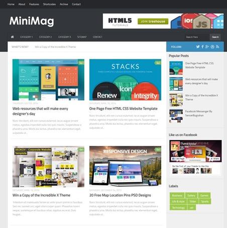 minimag-template