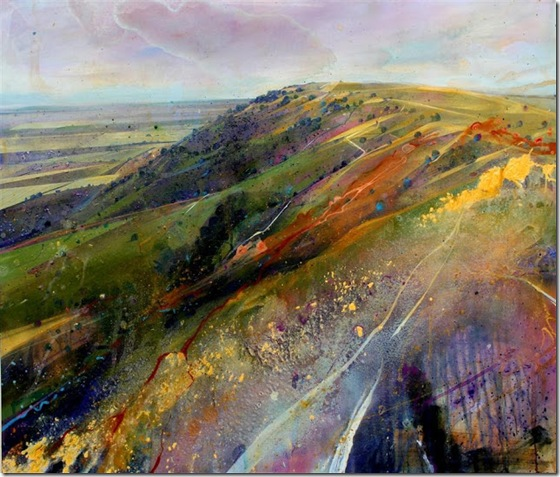 Sussex-Weald-III-Lorna-Holdcroft-ENKAUSTIKOS