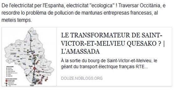 la logistica europèa en Occitània electricitat