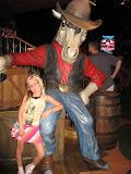 Hannah inside the Wildhorse Saloon in Nashville TN 09032011a