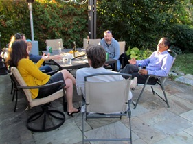 1510041 Oct 11 Sitting Around The Patio