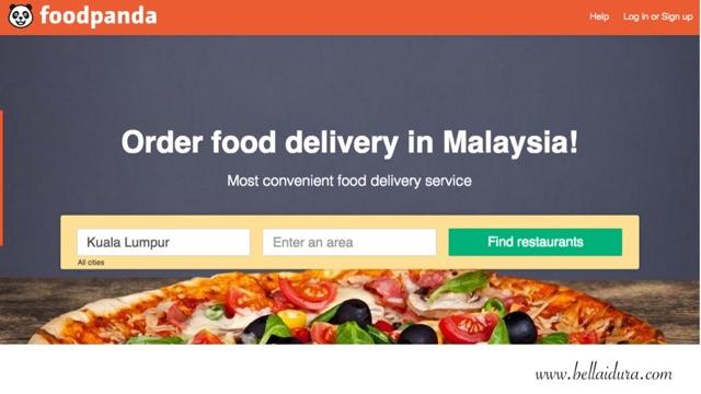 Makanan Sedap dihantar oleh Foodpanda