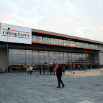 533 km gen Süden zur neuen ratiopharm arena in Ulm...