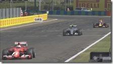 Vettel vince il gran premio d'Ungheria 2015