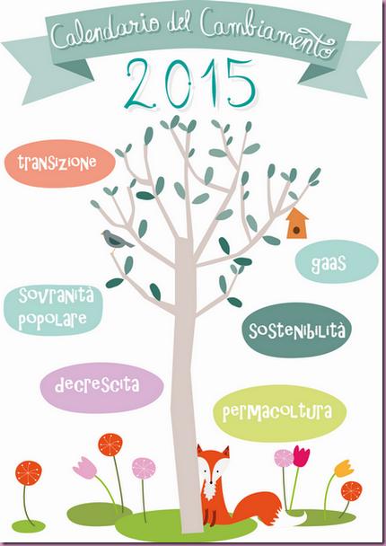 Calendario del Cambiamento 2015