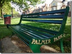 Palmer Park bench